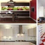 Плитка для кухни (кухонного фартука). Фото.