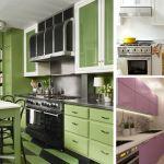 Интерьер кухни 9 кв.м. Современные идеи. Фото.